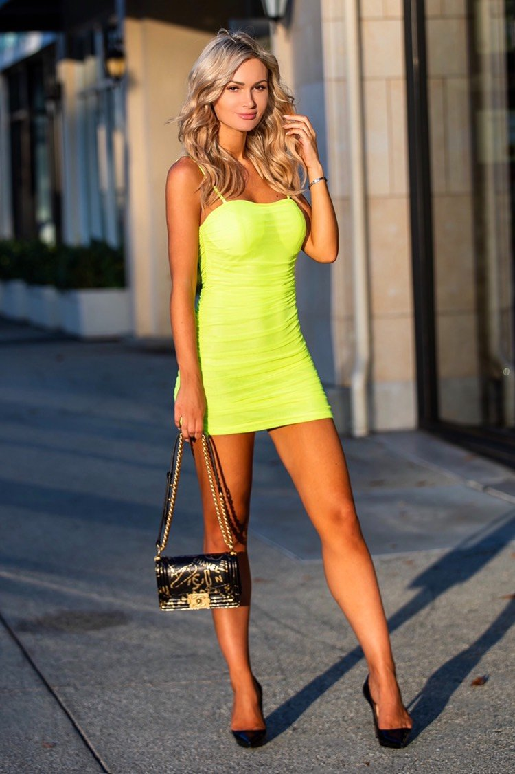Jessica Bara Ansley Bodycon Mini Dress