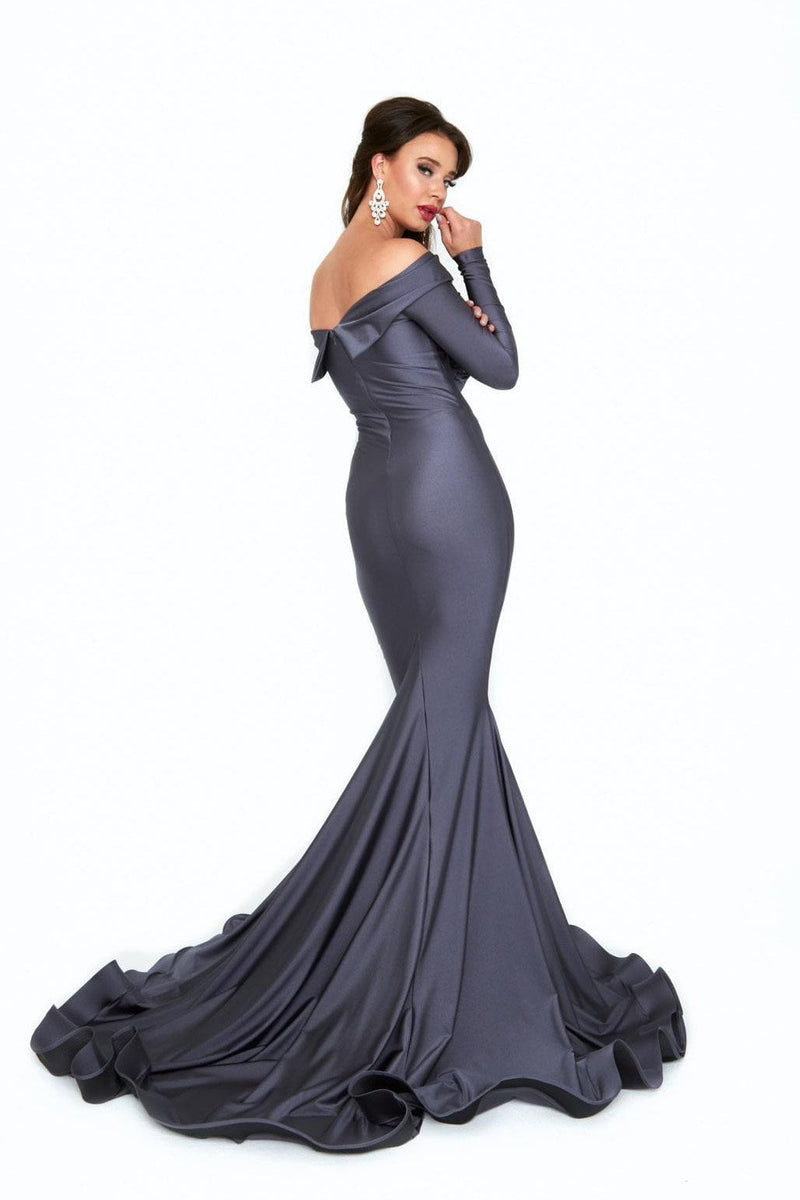 Atria Off the Shoulder Bodycon Gown