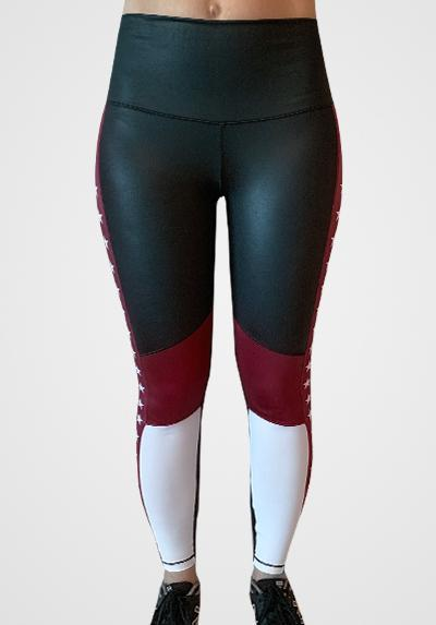 Active Fit Influence Stars Color Block Leggings