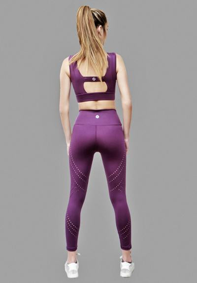 Active Fit Artisan Laser Cut Legging