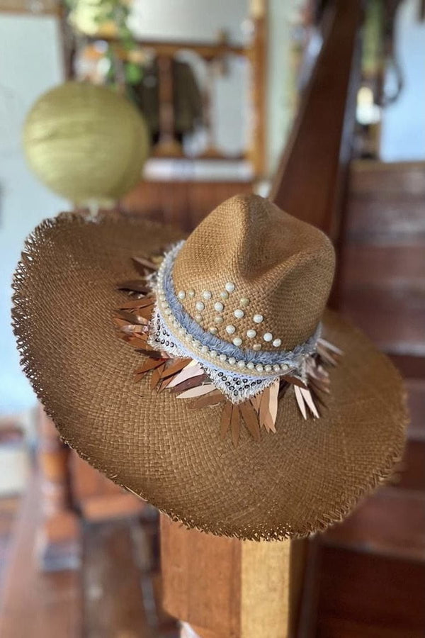 Jessica Bara Hand Made Straw Hat