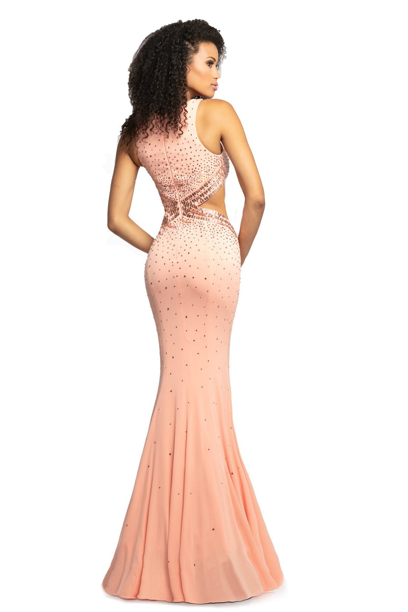 Johnathan Kayne Embellished Jewel Gown
