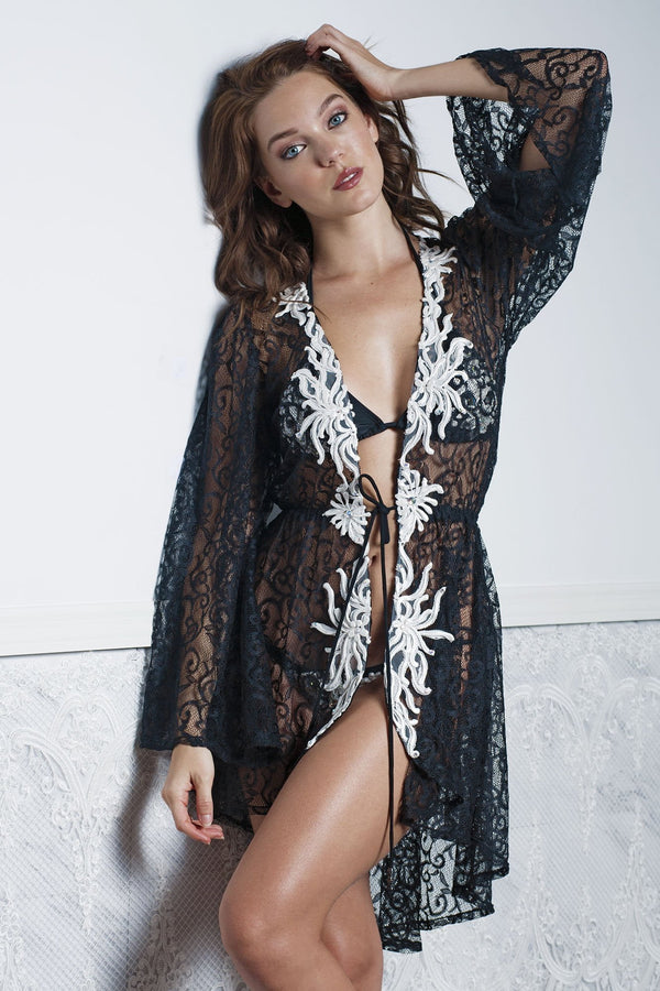 Baccio Couture Kika Short Cover Up