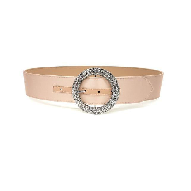 B-Low The Belt Clara Satin Diamond Belt