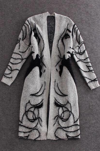 Jessica Bara Tyler Knitted Long Sleeve Cardigan