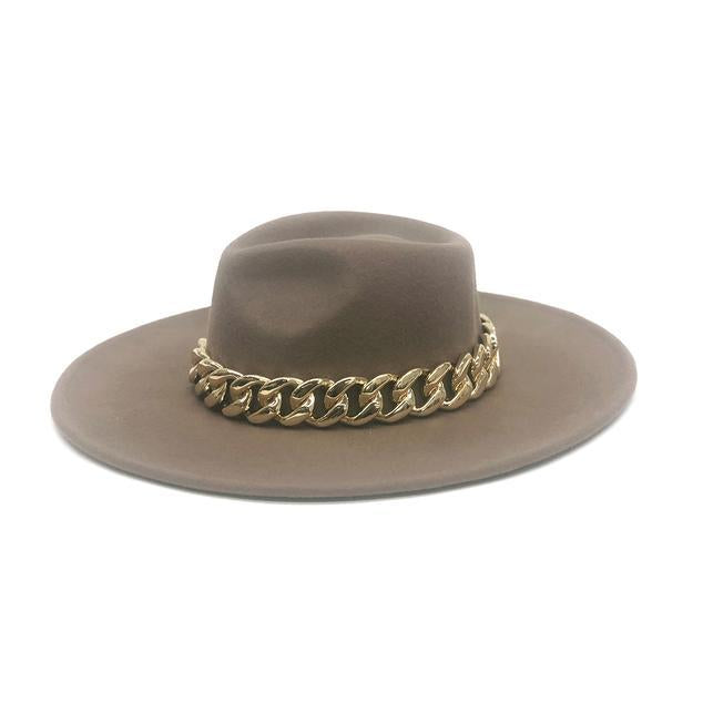 B-Low The Belt Marcel Wide Brim Hat