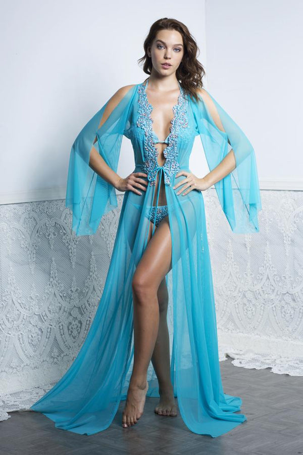 Baccio Couture Briani Long Cover Up