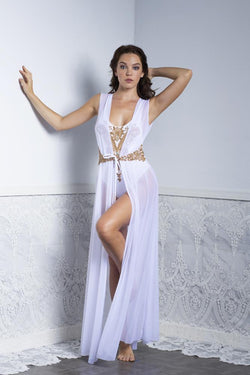 Baccio Couture Daniela Long Cover Up