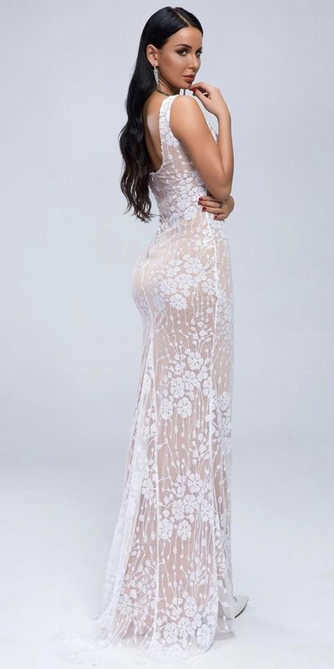 Jessica Bara Whyte Sequin Gown