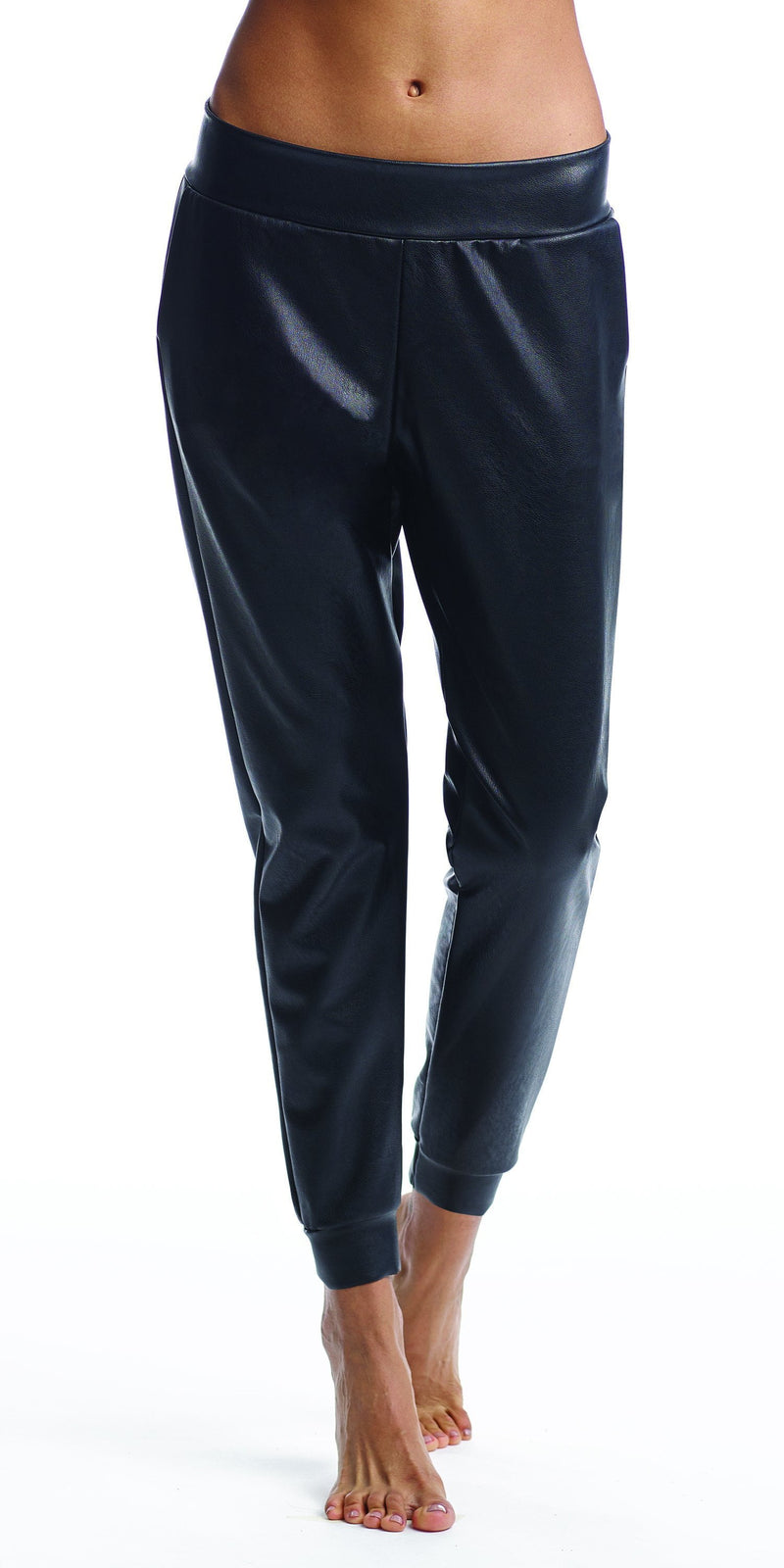 Commando Faux Leather Jogger