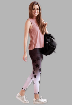 Active Fit Ombre Star Legging