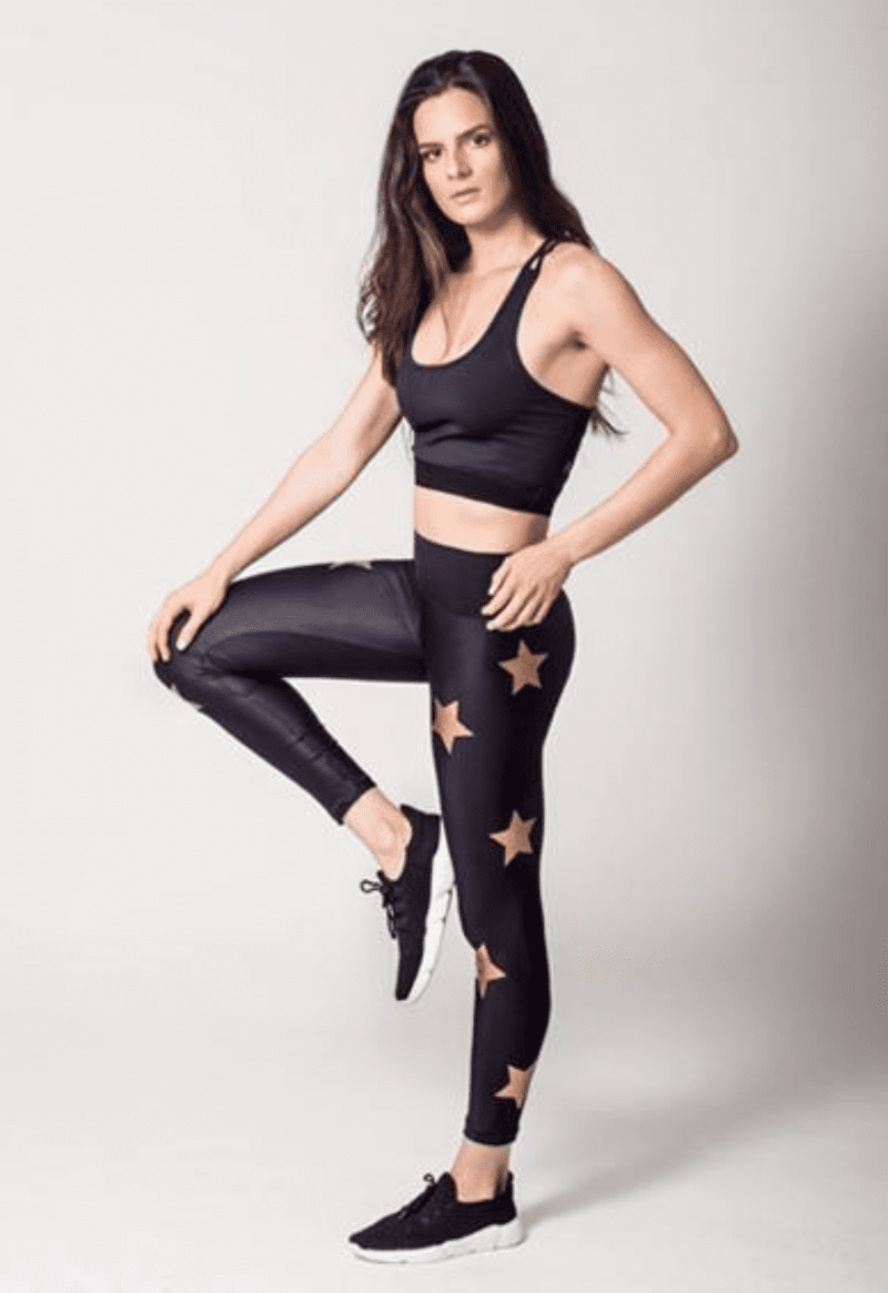 Active Fit Gold Star Legging