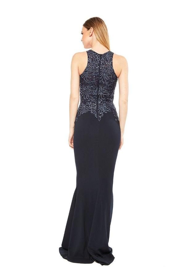 All Dresses - Baccio Alitze Painted Caviar Long Dress