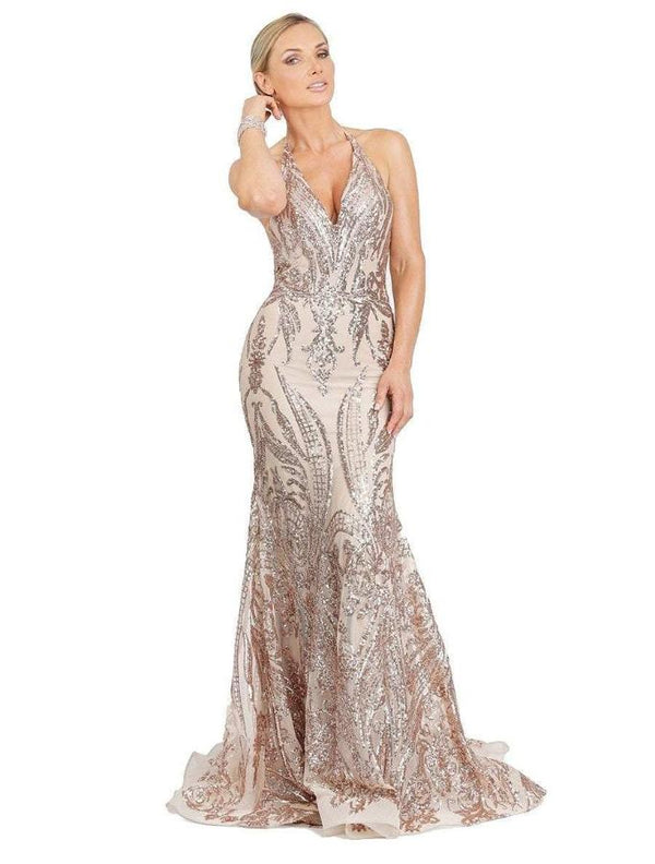 All Dresses - Baccio Kony Sequin Long Dress