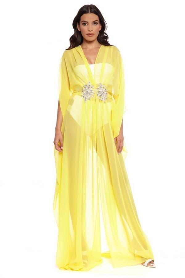 2b32d94f9 All Dresses - Ela Kaftans Embellished Long Kaftan ...