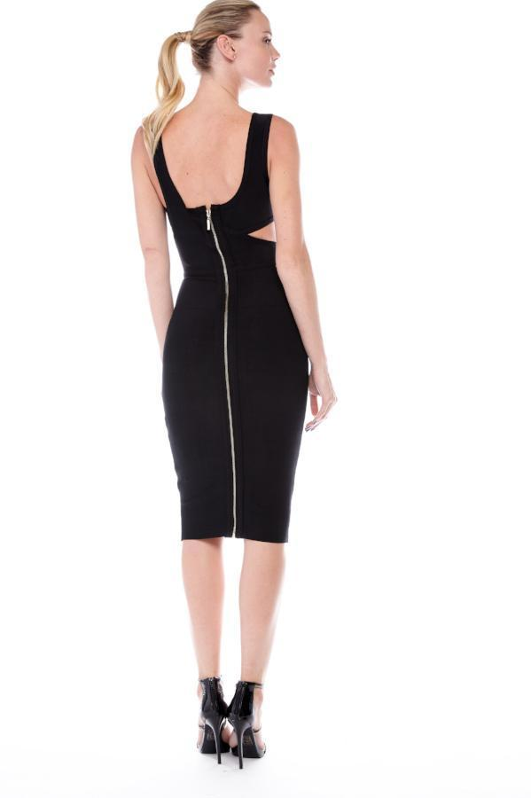 All Dresses - Jessica Bara Chanti Cut Out Bandage Dress