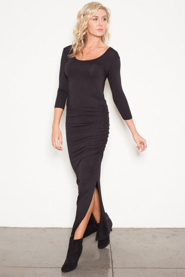 All Dresses - Nicole Andrews Forever Maxi 3/4 Sleeve Dress