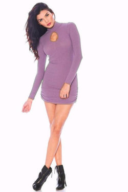 All Dresses - Nicole Andrews Forever Peekaboo Mini Dress