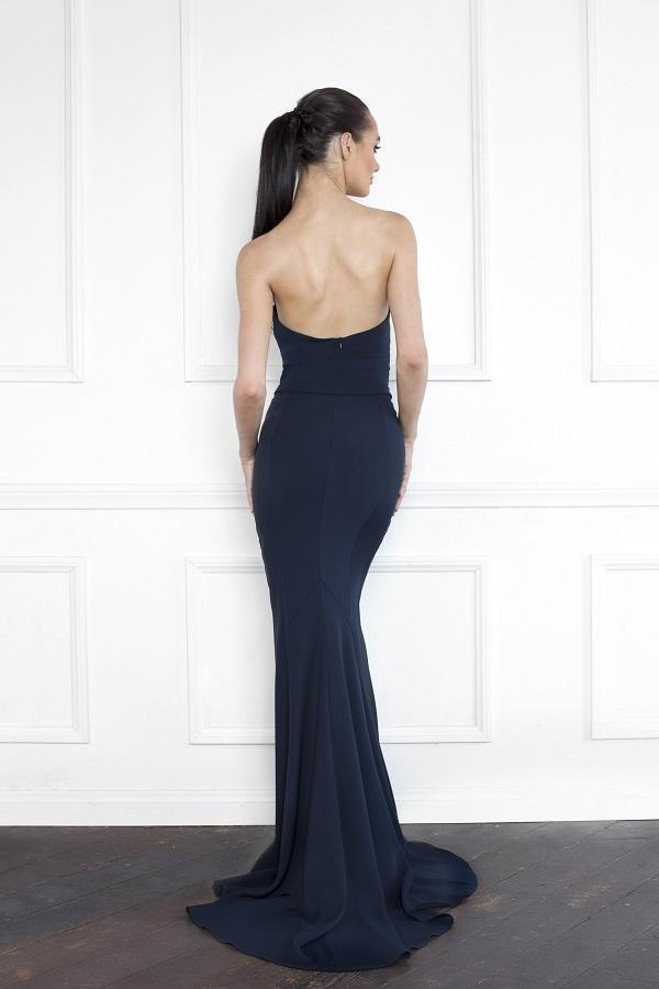 All Dresses - Nicole Bakti Sweetheart Embellished Gown