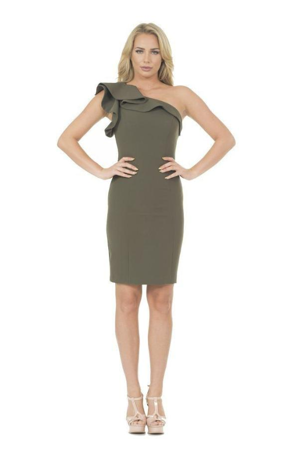 All Dresses - Posh Couture One Shoulder Dress