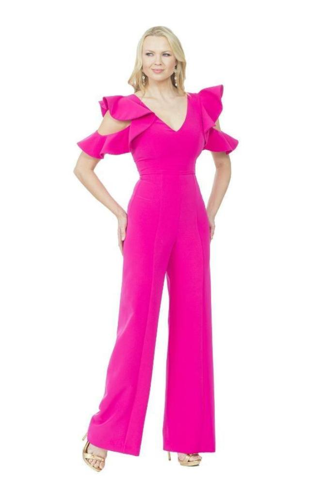 All Dresses - Sale Posh Couture Open Shoulder Jumpsuit