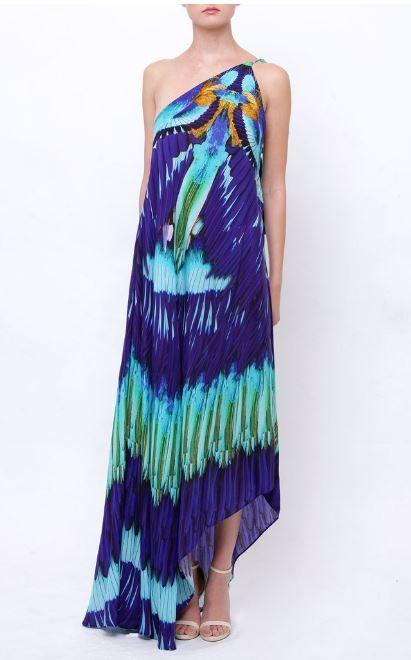 All Dresses - Shahida Parides Azure Navy Dress