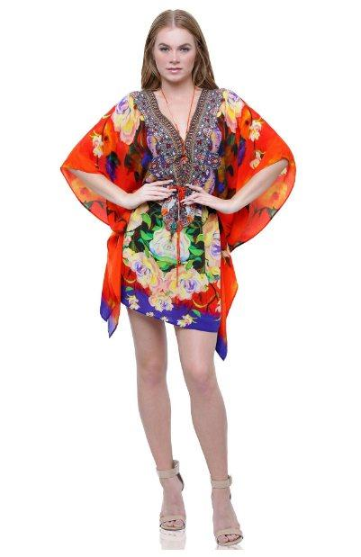 All Dresses - Shahida Parides Cherry Picked Medium Kaftan