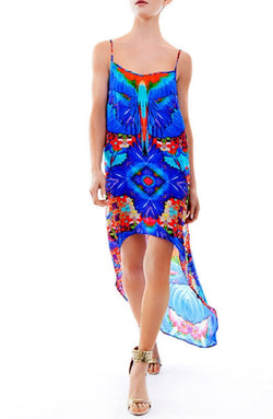 All Dresses - Shahida Parides Macaw Cami Hi-Low Dress
