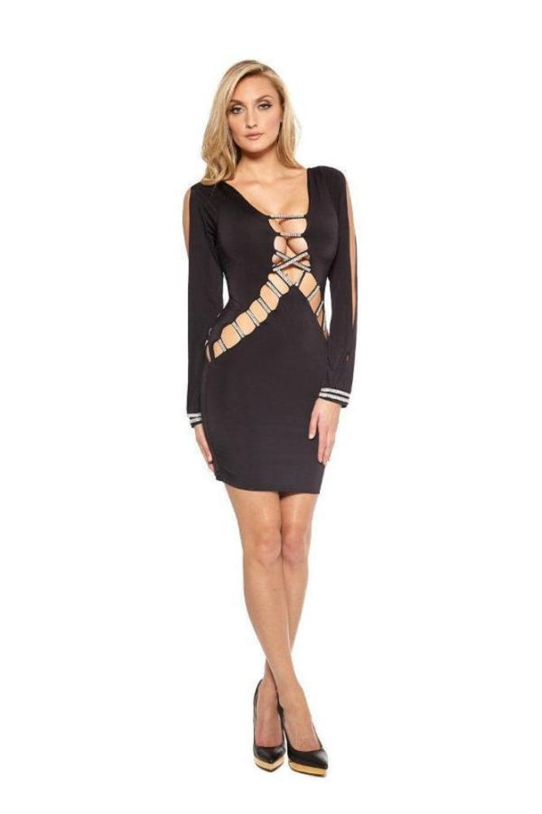 All Dresses - Vie Sauvage Alyx Crystallized Dress