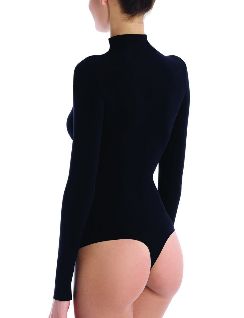 Commando Ballet Mockneck Long Sleeve Bodysuit Thong