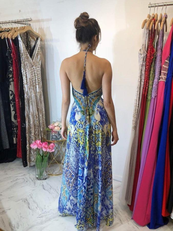 Dresses - Shahida Parides Sheikia Azure Three Way Dress