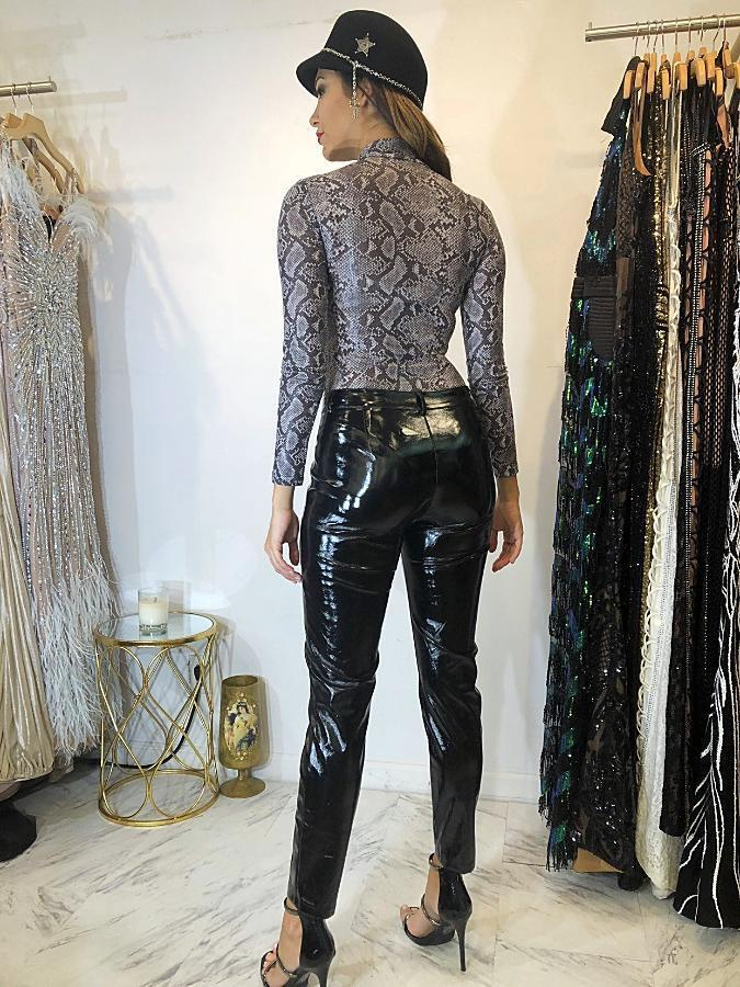 Jessica Bara Stan Latex Pants