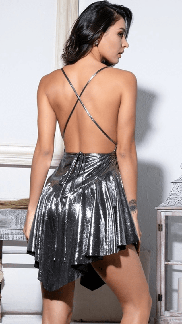 Jessica Bara Kimmie Open Back Playsuit