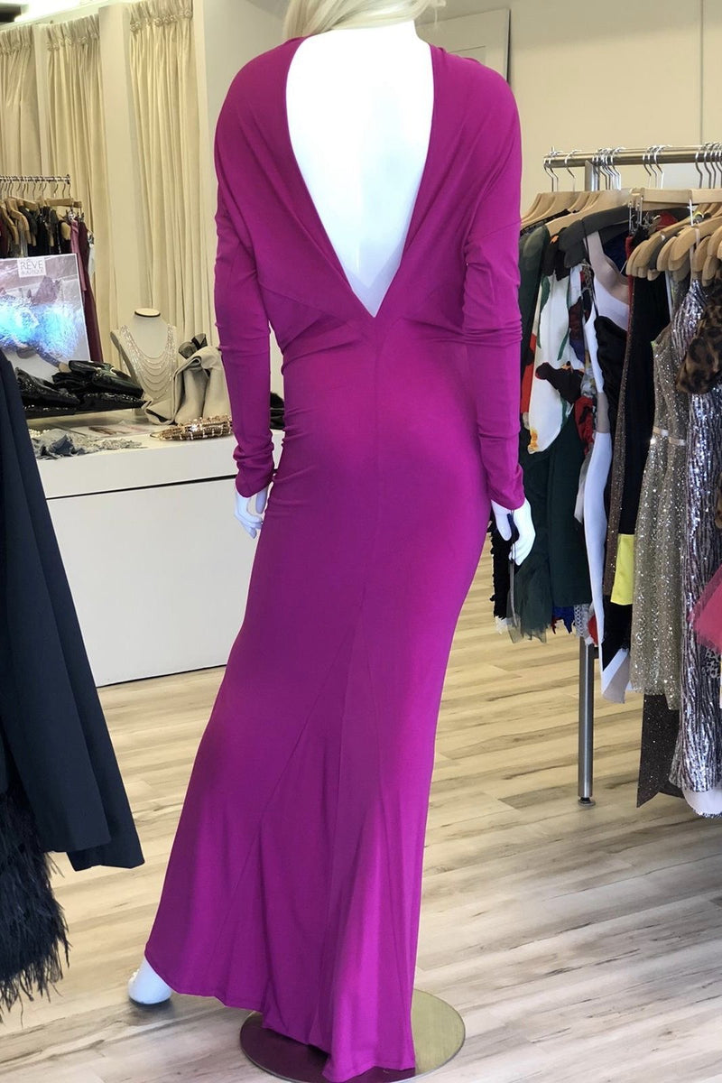 Jessica Bara Gizel Long Sleeve 3 Ways To Wear Gown