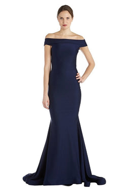 Jessica Bara Kina Off The Shoulder Bodycon Gown