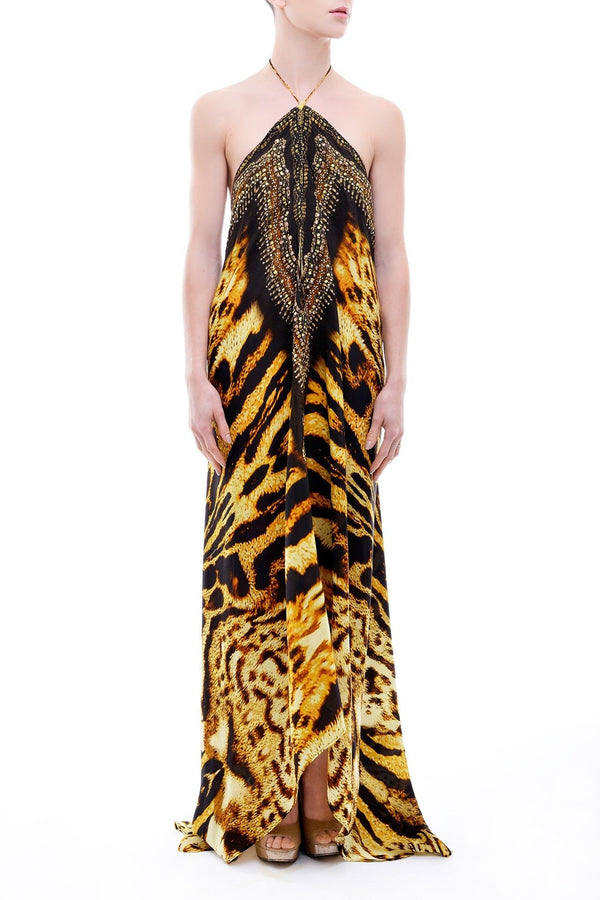 Shahida Parides 3 Ways To Wear Animal Print Maxi Dress