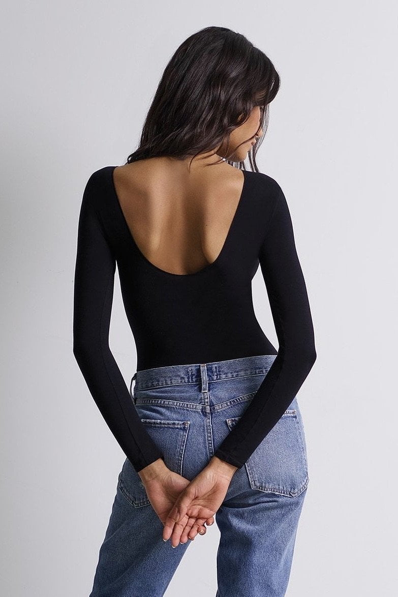 Commando Ballet Scoop-Back Bodysuit