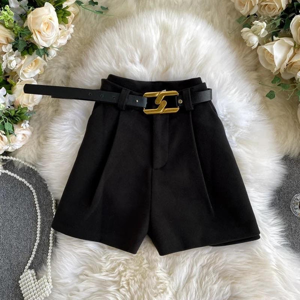 Jessica Bara Nellie High Waisted Belted Shorts