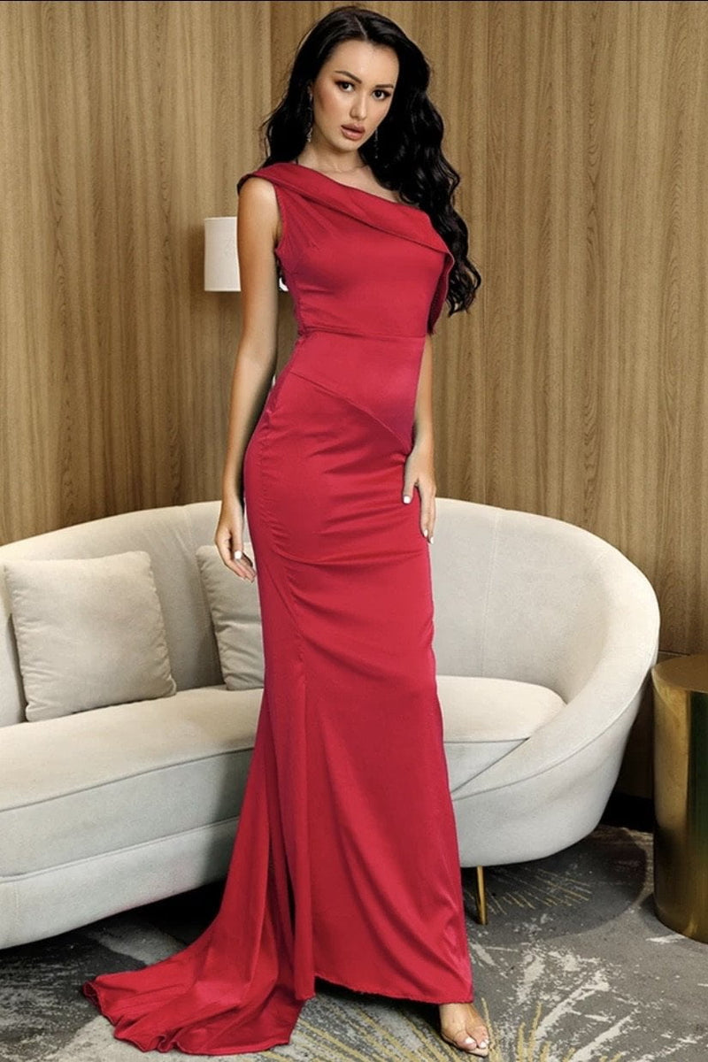Jessica Bara Saylor Off The Shoulder Bodycon Gown