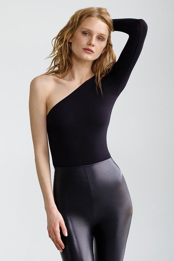 Commando One-Shoulder Long Sleeve Bodysuit