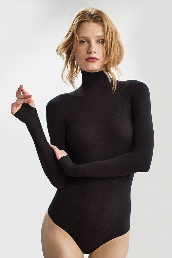 Commando Ballet Turtleneck Bodysuit Thong