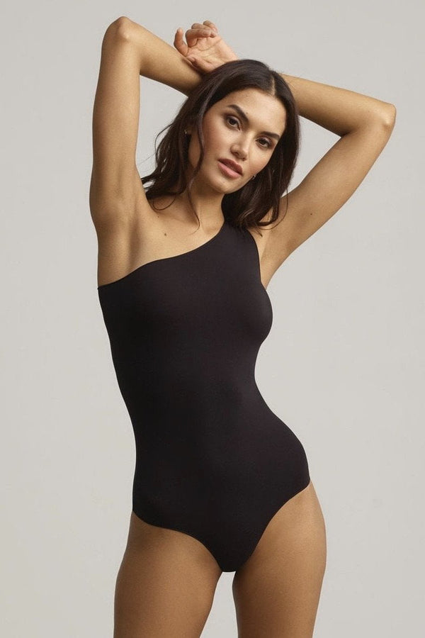 Commando Ballet One-Shoulder Thong Bodysuit