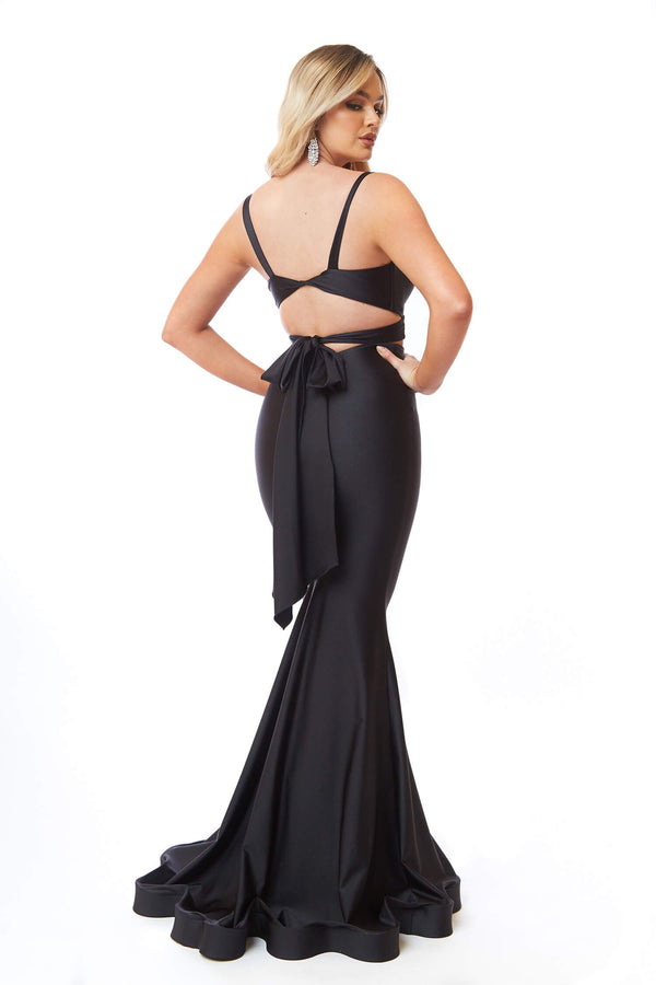 Atria Back Tie Two Piece Gown