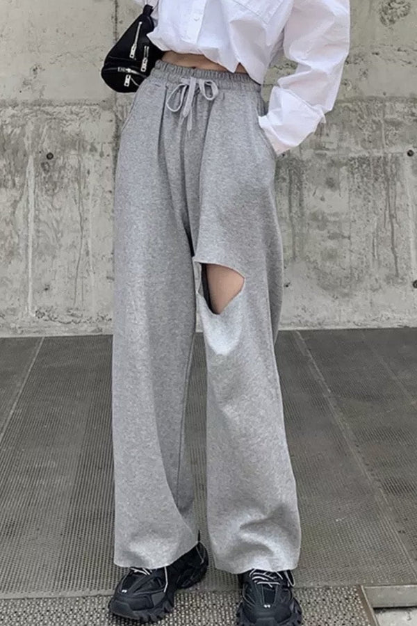 Jessica Bara Wray Slash High Waisted Sweatpants