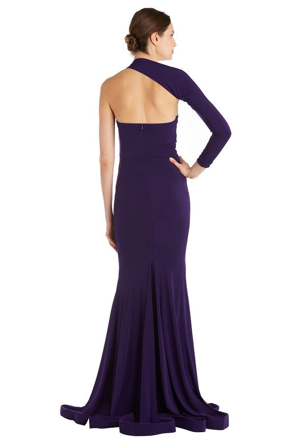 Jessica Bara Austin One Shoulder Bodycon Gown