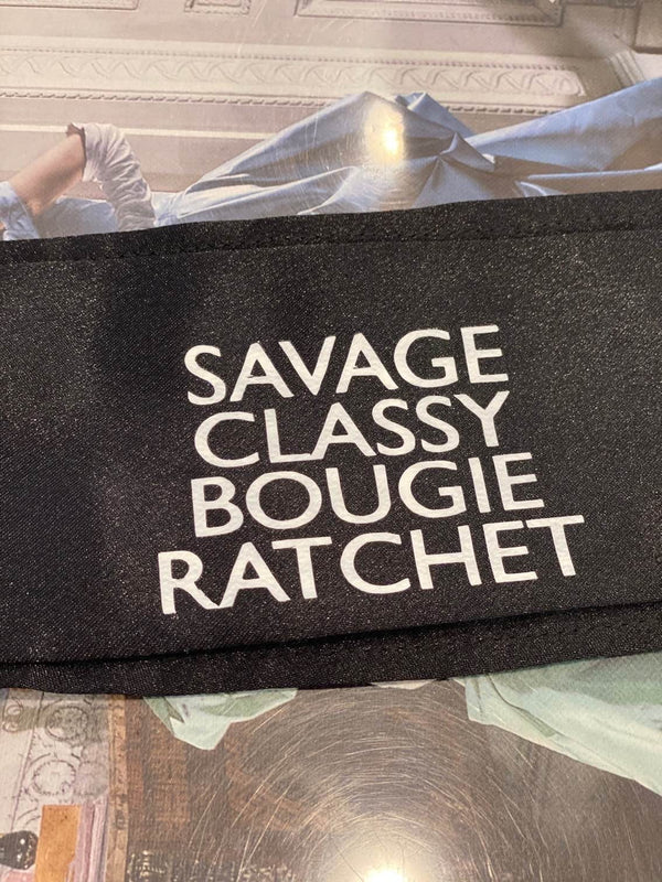 Savage Classy Bougie Ratchet Protective Face Masks