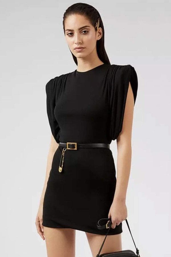 Jessica Bara Lawrence Short Sleeve Bodycon Mini Dress