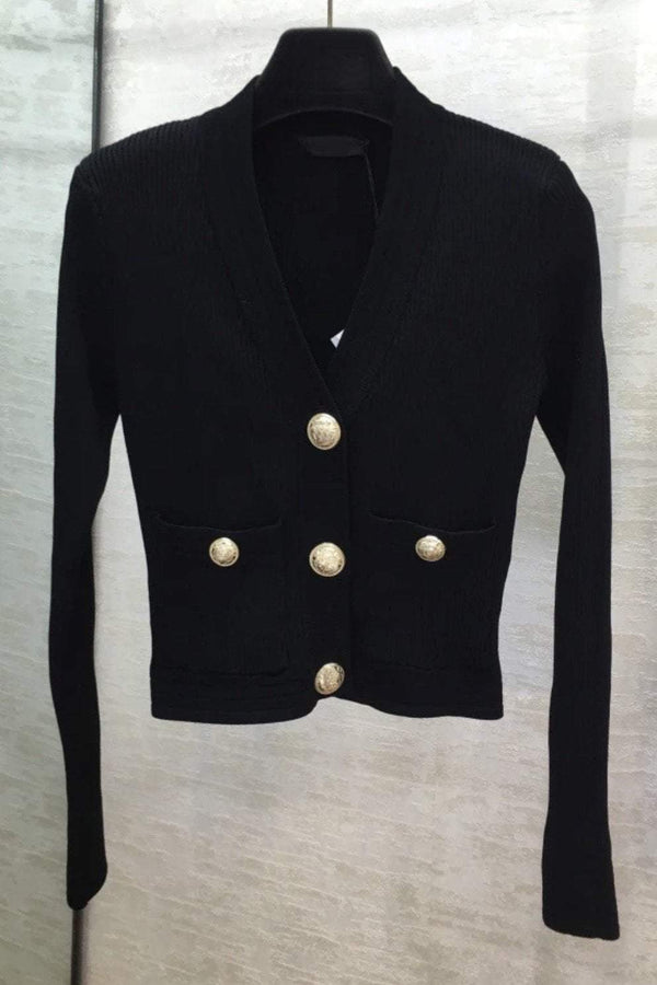 Jessica Bara Ellis Long Sleeve Knit Cardigan