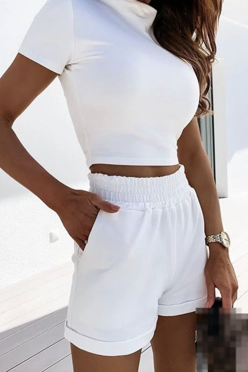 Jessica Bara Jemma Top And Short Two Piece Set