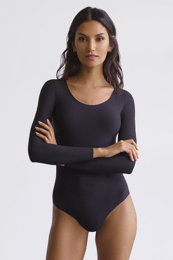 Commando Butter Long Sleeve Bodysuit